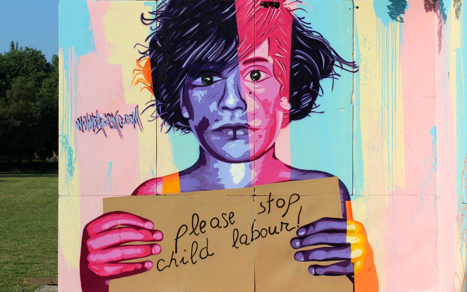 Please, stop child labour!