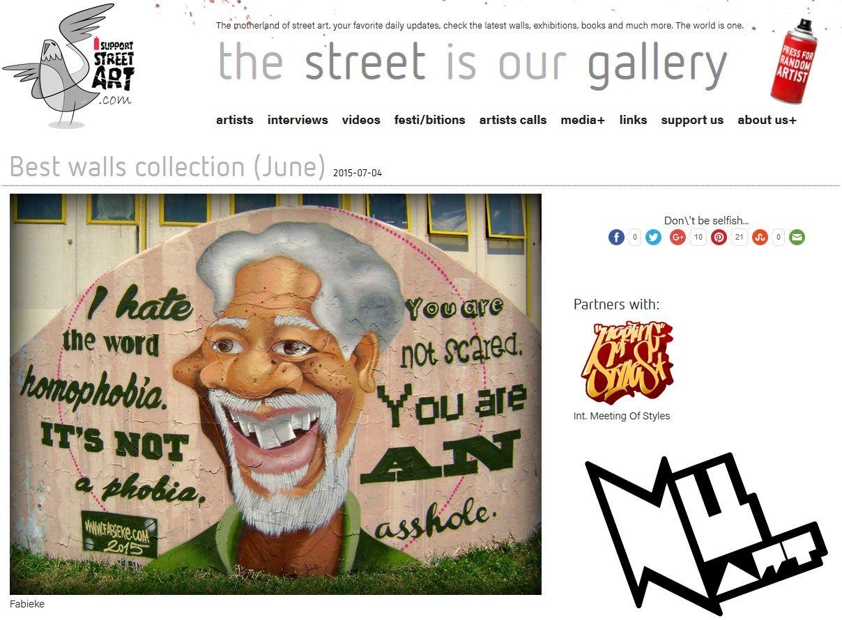 I Support Street Art