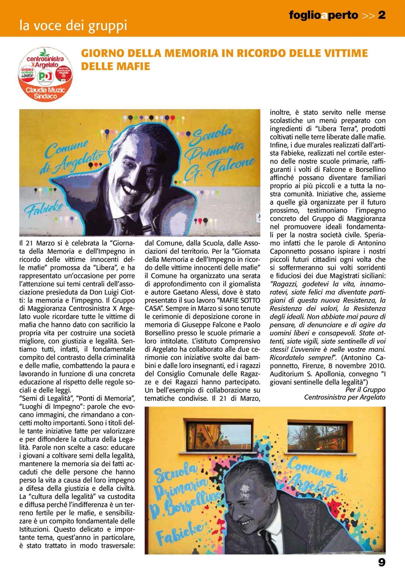 FoglioAperto - Monthly Magazine