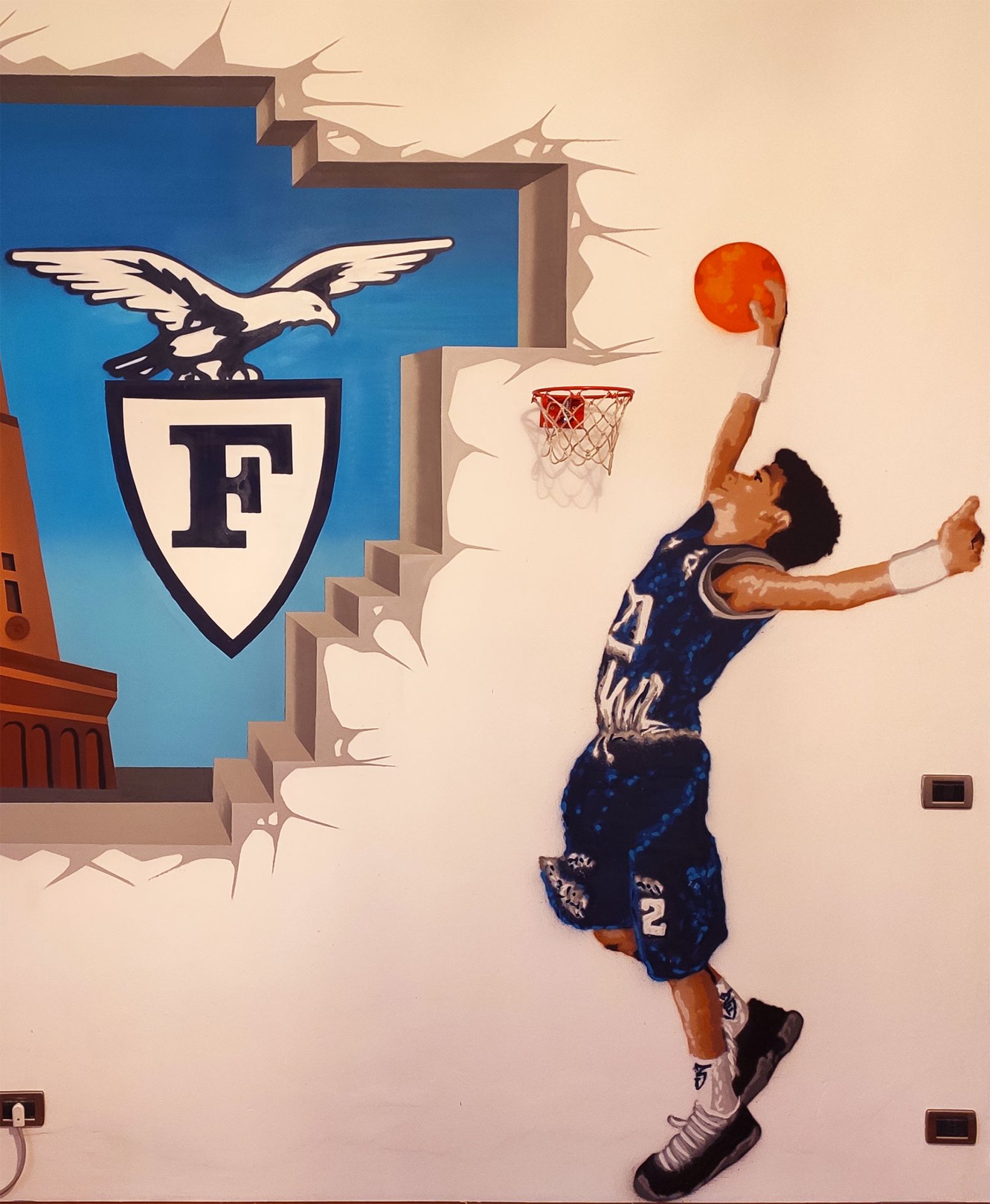 Giorgio on the wall!