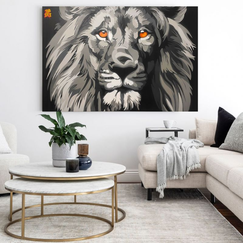 The lion Gustavo